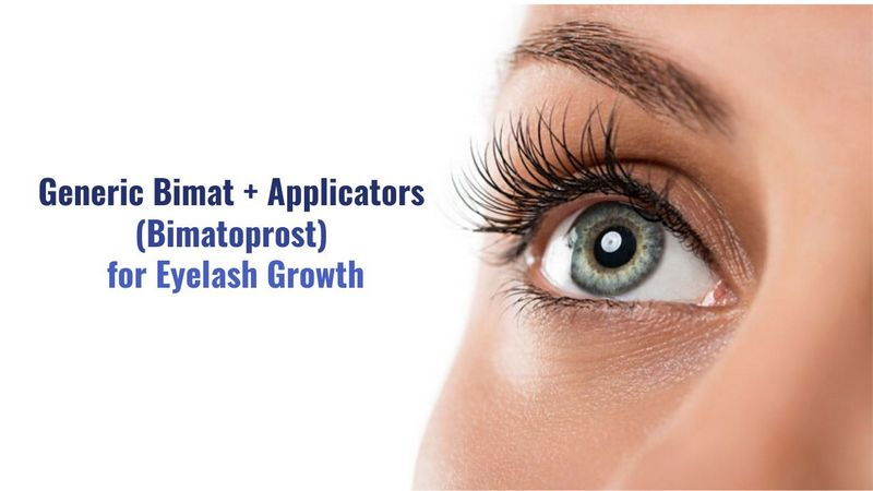 Generic Bimat + Applicators (Bimatoprost) for Eyelash Growth